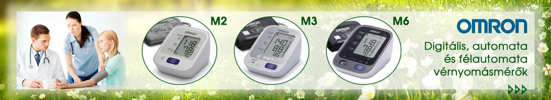 Omron vérnyomásmérők új