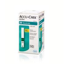 Accu-Chek Active vércukor tesztcsík 25 db/doboz