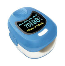 Pulzoximéter gyermek/csecsemő 50Q Baby világoskék