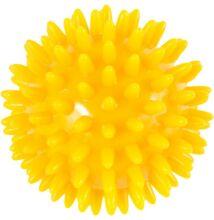 Tüskés labda 8 cm citromsárga