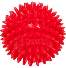 Tüskés 9 cm piros tüskés masszírozó labda