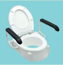 Állítható magasságú felhajtható karfás WC magasító SUNDO TSE