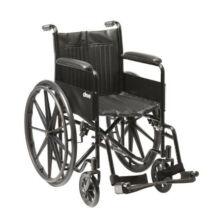 Standard kerekesszék S1 115 kg-ig