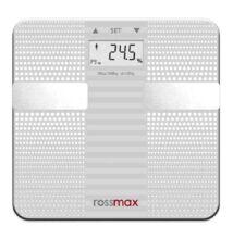 Digitális testzsír mérleg - Rossmax WF260