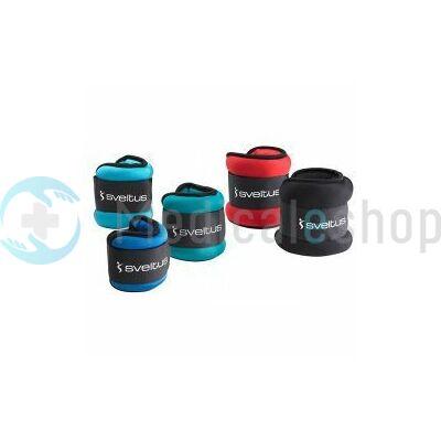 Thera-Band 2x1kg tépőzáras súly fekete, kék