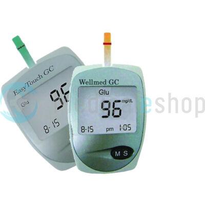 Wellmed Easy Touch vércukor - és koleszterin mérő készülék