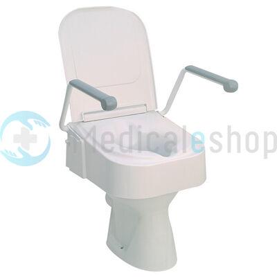 WC magasító felhajtható karfával