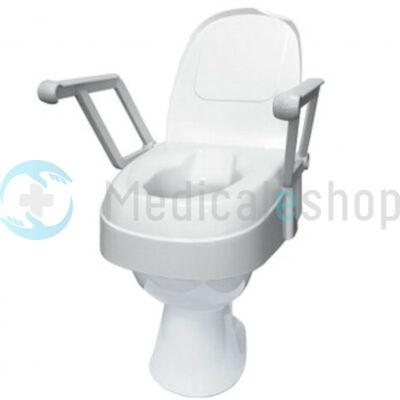 WC magasító felhajtható karfával, állítható magasság TSE-120