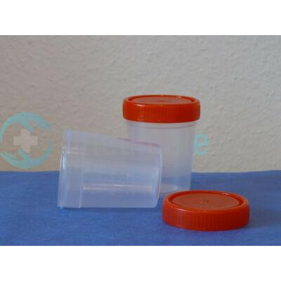 Vizeletes pohár steril csavaros tetővel 100 ml