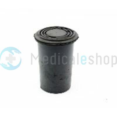 Botvég gumi szürke fémbetéttel 18 mm
