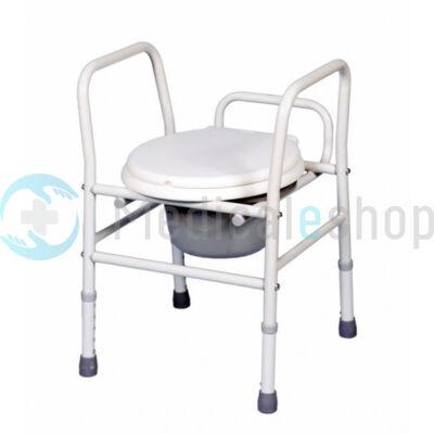B-4323 Hordozható állítható magasságú szoba WC