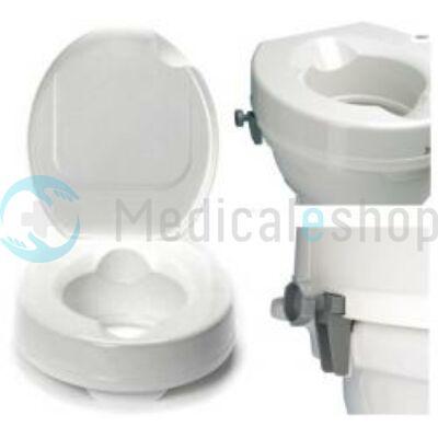 WC magasító 10 cm-es fedéllel, csavaros rögzítéssel
