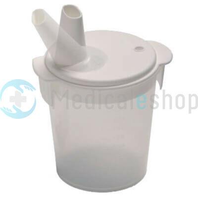 Betegitató pohár mozgatható itató csutorával