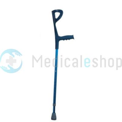 Könyök mankó színes kék (magasság 94-117 cm) Mobiak