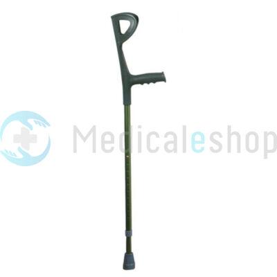 Könyök mankó színes zöld (magasság 94-117 cm) Mobiak