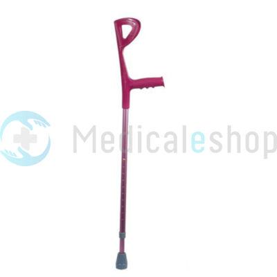 Könyök mankó színes magenta (magasság 94-117 cm) Mobiak