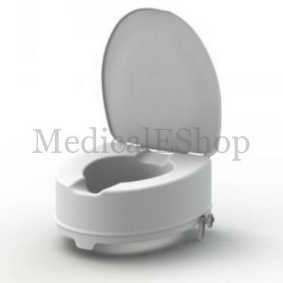 Easy-Clip WC magasító fedeles 15 cm