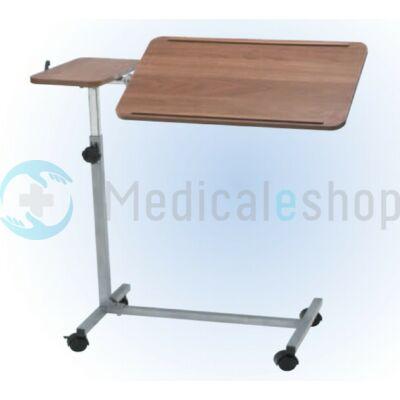 Multifunkciós ágyasztal dönthető, állítható magasságú