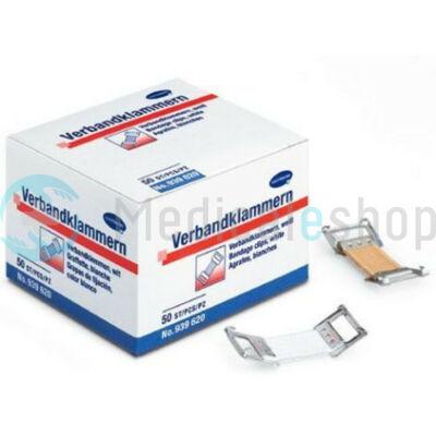 Kötszerkapocs fehér 50 db/ doboz