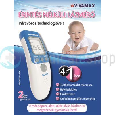 Vivamax Nonkontakt érintésmentes lázmérő