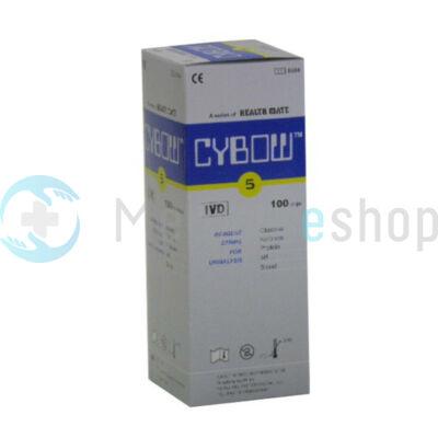 Vizelet tesztcsík CYBOW 5 100 db/doboz