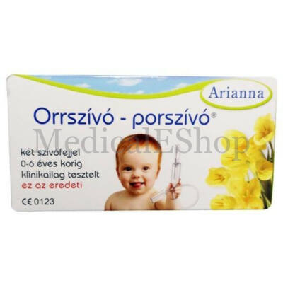 Orrszívó porszívó Arianna - műanyag
