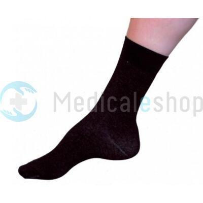 Ezüst zokni - Fekete - Aes Angelus