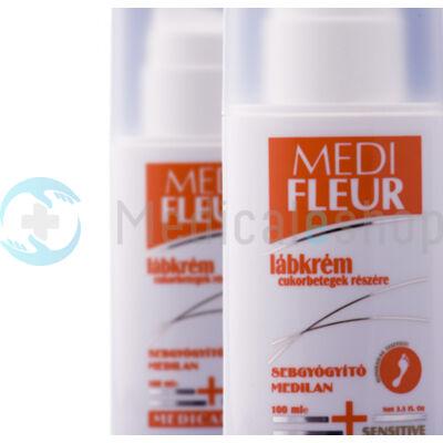 Lábkrém cukorbetegeknek Medi Fleur 100 ml