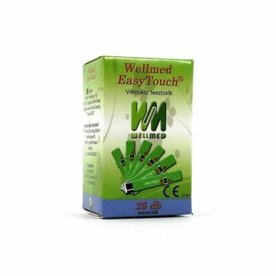 Tesztcsík Wellmed Easy Touch dupla csomag Vércukor 50 db