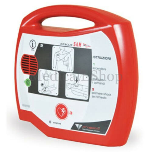 Defibrillátor RESCUE SAM félautomata 200J - hordtáskával