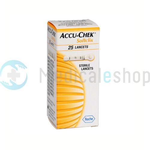 Ujjszúró Softclix lándzsa 25db Accu-Chek