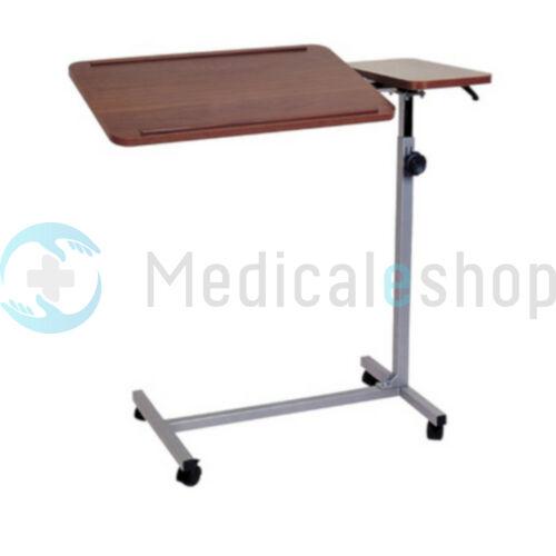 Kétlapos ágyasztal dönthelő lappal Barna- 806645