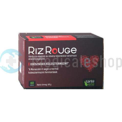 Riz Rouge növényi kivonatokat tartalmazó étrend-kiegészítő az egésszéges koleszterintszentért