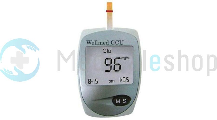 Vércukor- koleszterin és húgysav mérő szet Easy Touch Wellmed ET- GCU 84fa04653b
