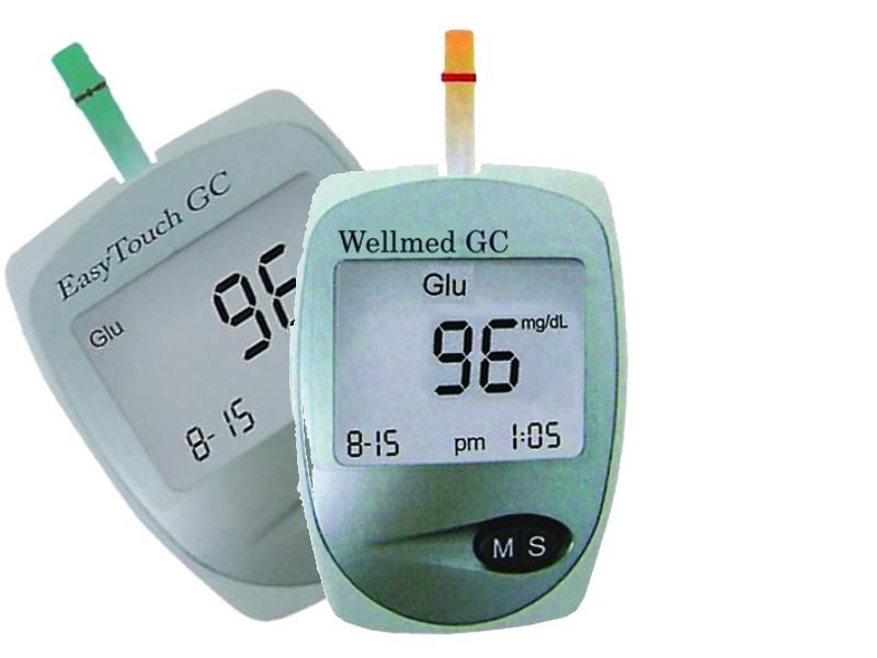 Vércukor- és koleszterin mérő szet Easy Touch Wellmed ET- GC e7a48213cb